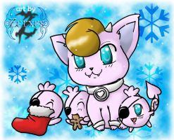 Winter Orgymon II by Zerxes