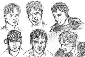 Faces of Jonathan by Hoabert