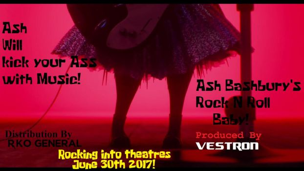 Rock N Roll Baby Promotional Poster #1 by moses1219