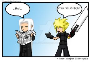 FF7 alternate ending by KiljoyQ