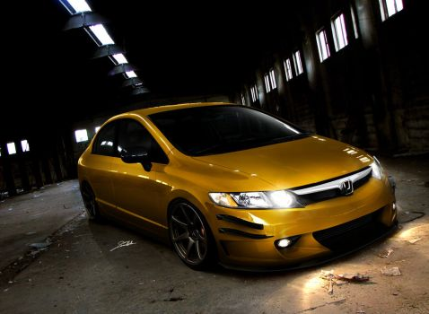 Honda Civic Hybrid by SaMuVT
