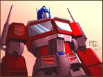 Epic Optimus by spiketail94