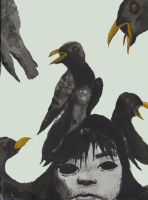 Ravens by Mind-In-Disarray