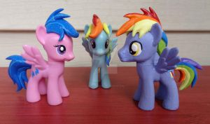 Rainbow Dash family by HeyLookASign