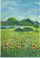 coquelicots...paysage by angeloup