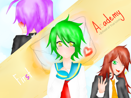 UTAU: First Love Academy ::School of True Love:: by Zero09Ike