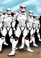 Soldiers Of The First Order by stourangeau