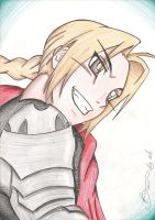 Edward Elric by BrunoPellico