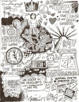 All Time Low lyrics doodles by rinc0nley