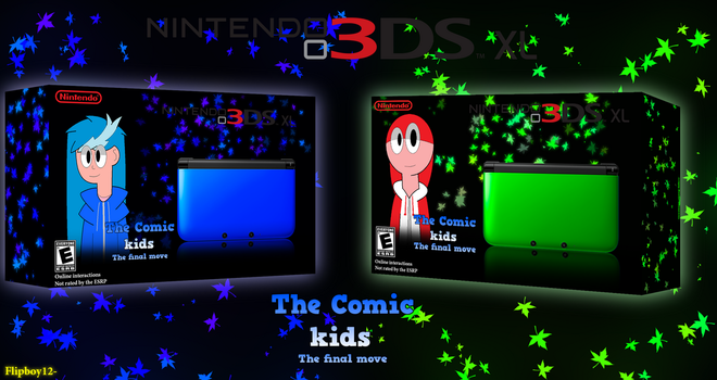 Nintendo 3dsxl The comic kids final move by flipboy12