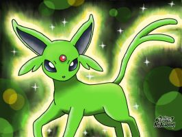 Shiny Espeon by 29steph5