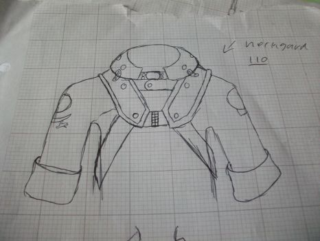cosplay concept chest / helmet mount and jacket by sam1337
