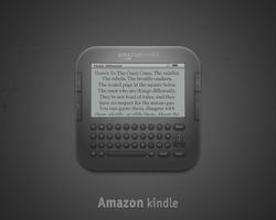 Amazon Kindle Icon by luisperu9