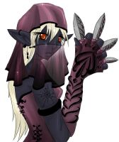 Drow Assassin by Sombrewood
