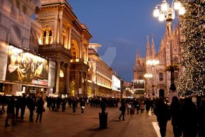 milan in christmas by cavalars