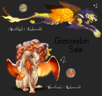 CLOSED - Grimoirekin SALE by FlightyFelon
