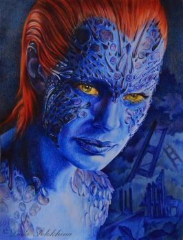 Mystique by slightlymadart