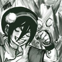 Toph the earth bender by rinoaneko