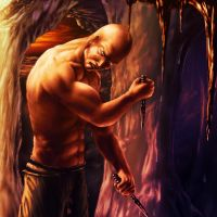 Riddick From the Depths by McJohnArt