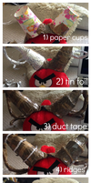 How To Make Curled Horns by Slothiitron