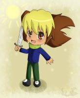 Chibi Apollo by Flame-of-Icarus