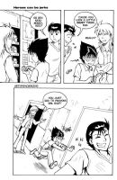 YYH Fancomic Comic 1 by laurbits