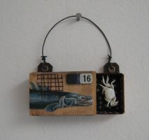Tiny assemblage: Crab 1 by bugatha1