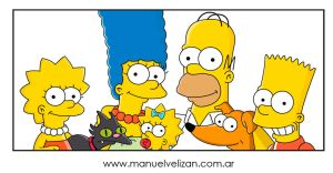 The Simpsons Vector by manuelvelizan