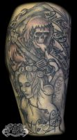 Angel and Reaper by state-of-art-tattoo