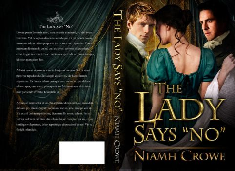 Book Cover - Lady Says No by Niamh Crowe by Georgina-Gibson
