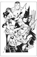 Heroes by Ed Benes by JPMayer