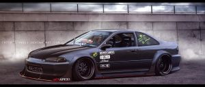 Honda Civic by aNqUi