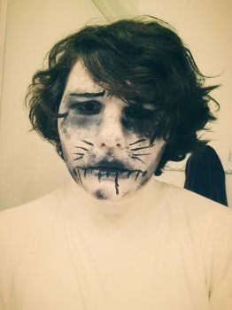 Zacharie Cosplay MakeUp!! by kenny241100