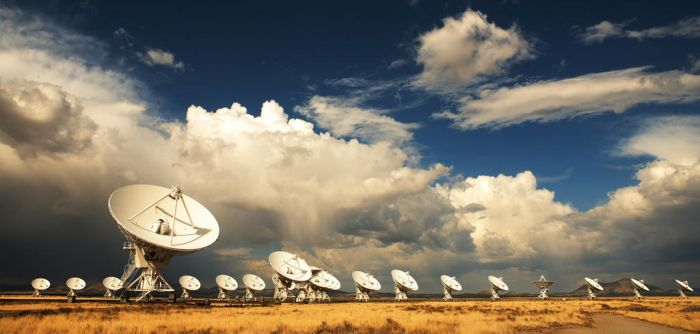 VLA Telescopes by kimjew