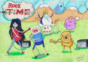 Rock Time ! by bispau