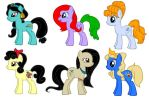 MLP FIM Disney Princesses by kaoshoneybun