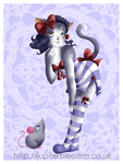 Gen: Pinup Kitty by JupiterBlossem