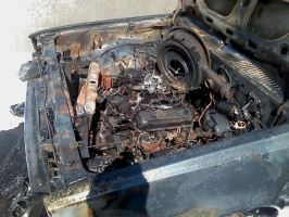 Engine Compartment by Sampixie