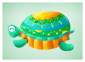 Turtle by Aaron-Randy