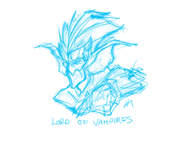 Lord Of Vampires Rough Sketch by Phil-Crash-Murphy