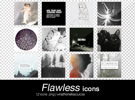 Flawless   ICONS by WhatTheHellResources