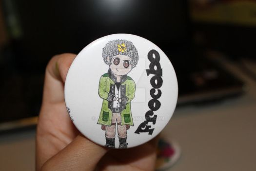 Sazh Frocobo Button by Akcire29