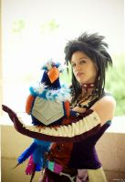 Final Fantasy X-2: Trainer Paine by Quail-Chick