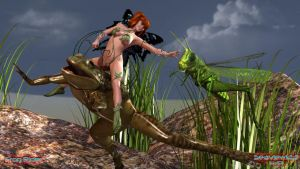 Frog Rider by Seaview123