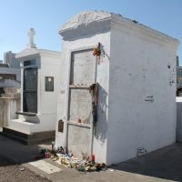 Tomb of Marie Laveau St. Louis Cemetery by SalemCatStock