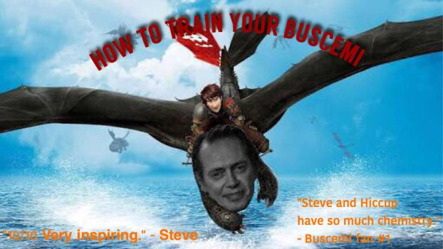 How To Train Your Buscemi by sham-urai