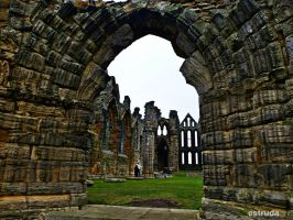 The Gateway To Whitby Abbey by Estruda
