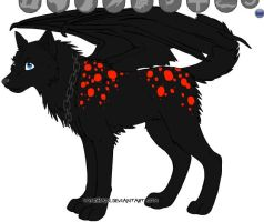 me as a wolf by eliteracer