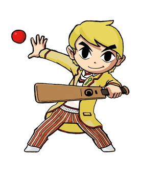 Wind Waker Fifth Doctor by IronManWristwatch