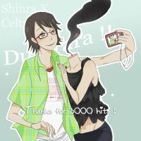ShinraXCelty - Thanks by Waders